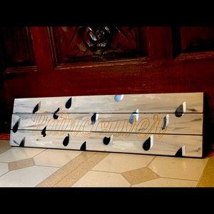 """""""Raincouver"""" handmade custom wall hang sign"""